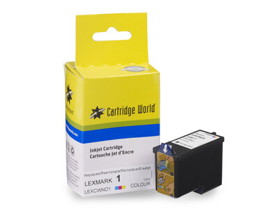 LEXMARK 1 NEW COMPATIBLE COLOUR INK WIGIG CLEARANCE ITEM