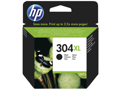 HP 304XL ORIGINAL BLACK INK *300 Pages