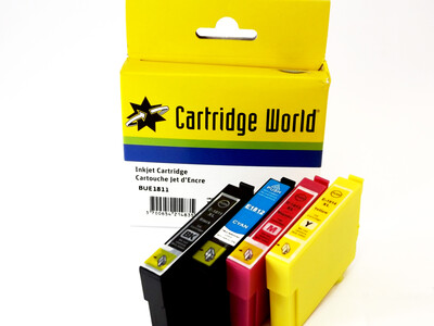 EPSON T18XL CW REPLACEMENT SET OF 4 XL INKS