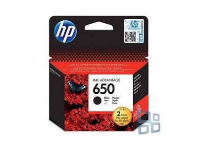 HP 650 ORIGINAL BLACK INK *360 Pages