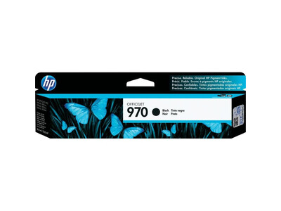 HP 970 ORIGINAL BLACK INK *3000  PAGES