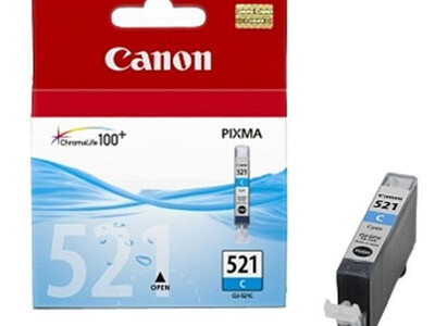 CANON CLI521 ORIGINAL CYAN INK
