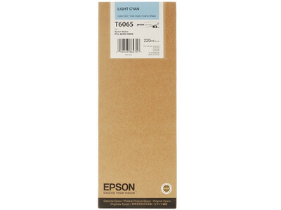 EPSON 4800/4880 T606500 LIGHT-CYAN 220ML INK