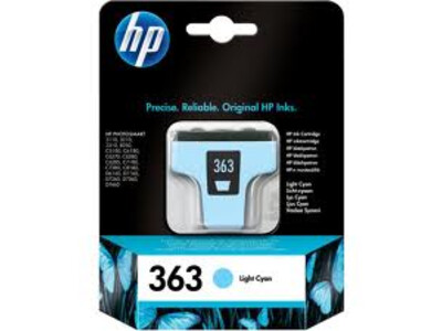 HP 363 ORIGINAL LIGHT CYAN INK