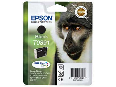EPSON T0891 ORIGINAL BLACK INK