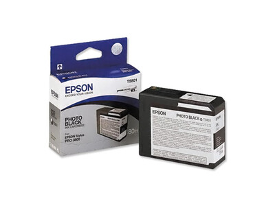 EPSON PRO 3800 T5801 ORIGINAL PHOTO Graphics