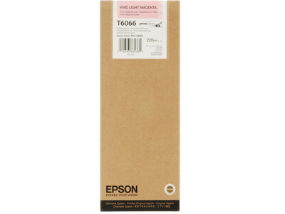 EPSON 4800/4880 T606600 VIVID LMAGENTA 220ML INK