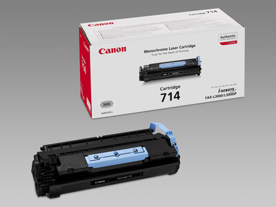 CANON 714 ORIGINAL TONER BLACK