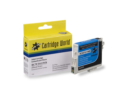 EPSON T0611 REPLACEMENT BLACK  INK WIGIG