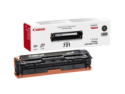 CANON 731 ORIGINAL TONER BLACK