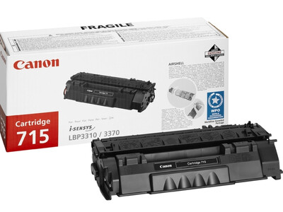 CANON 715 ORIGINAL TONER BLACK 3000 pages