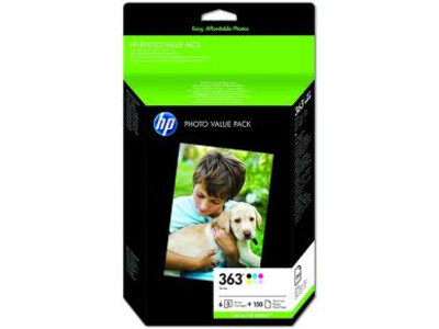 HP 363 MULTIPACK  6 incl L/Y BLACK ORIGINAL INK