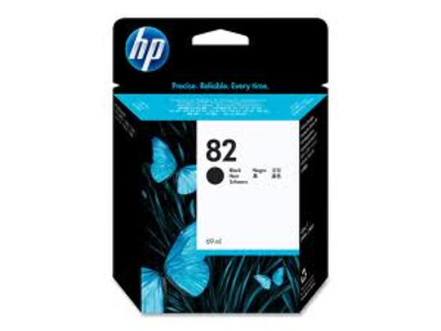 HP 82 ORIGINAL HIGH YIELD BLACK INK