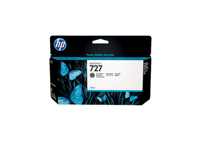 HP 727 XL ORIGINAL MATTE BLACK INK