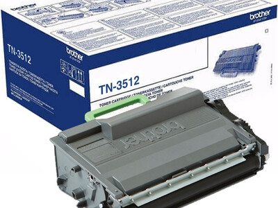 BROTHER TN3512 ORIGINAL TONER BLACK