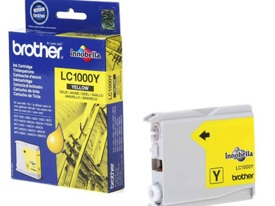 BROTHER LC1000 ORIGINAL YELLOW INK