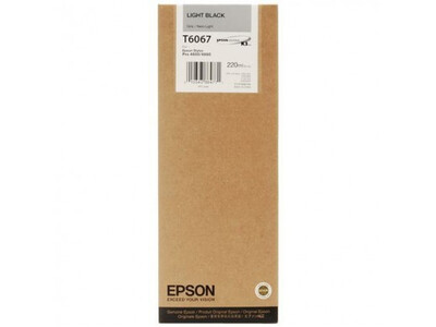 EPSON 4800/4880 T606700 LIGHT-BLACK 220ML INK