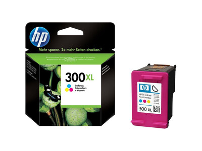 HP 300 EXTRA LARGE ORIGINAL COLOUR INK 12ML