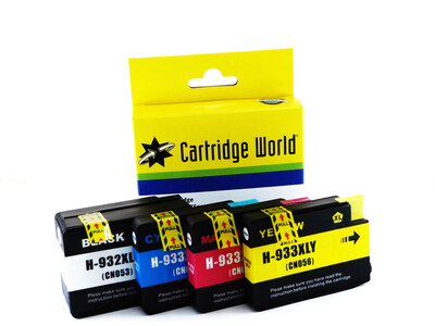 HP 932/933 XL CW REPLACEMENT SET 4 INKS
