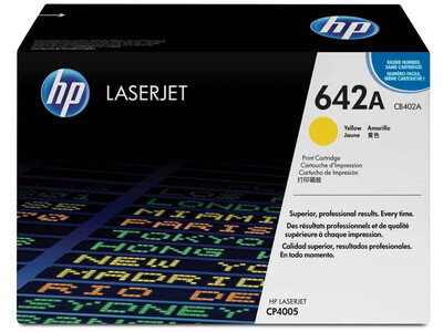 HP CB402A ORIGINAL TONER YELLOW