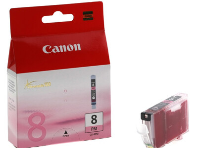 CANON CLI8 ORIGINAL PHOTO MAGENTA INK