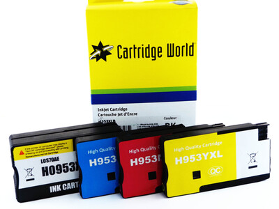 HP 953XL CW REPLACEMENT SET OF 4 INKS