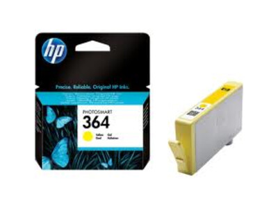 HP 364 ORIGINAL YELLOW INK