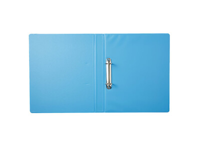 PVC BINDER 2-RINGS BLUE