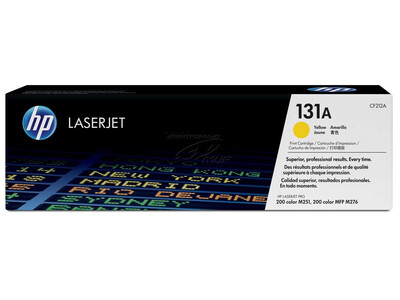 HP CF212A ORIGINAL TONER YELLOW 131A