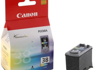 CANON CL38 ORIGINAL COLOUR INK