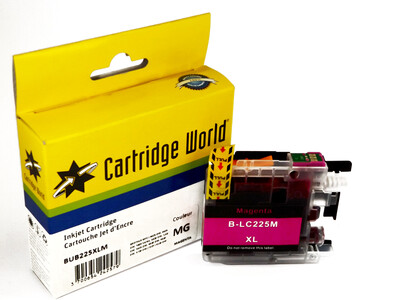 BROTHER LC225XL CW REPLACEMENT MAGENTA INK WIGIG