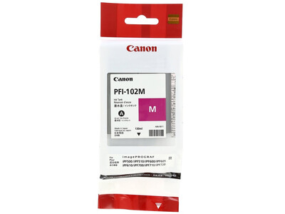 CANON INK PFI 102 ORIGINAL MAGENTA INK
