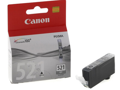 CANON CLI 521 ORIGINAL GREY INK