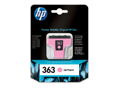HP 363 ORIGINAL LIGHT MAGENTA INK