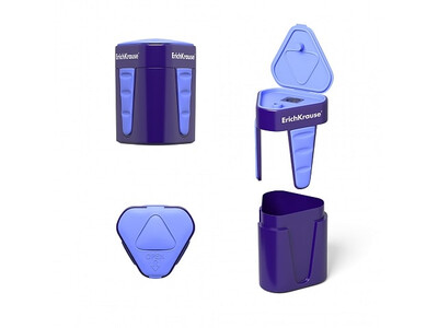 ERICHKRAUSE SHARPENER 3-TOUCH WITH CONTAINER AND LID