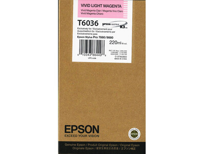 EPSON T6035 ORIGINAL VIVID-LIGHT MAGENTA