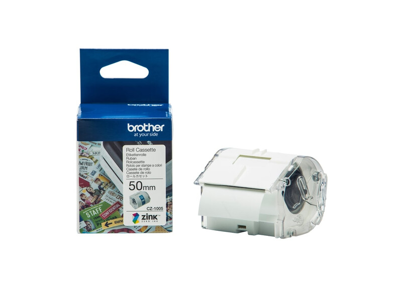 BROTHER ROLL CASSETTE 50MM X 5M - LABELS - Cartridge World Cyprus