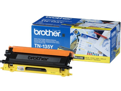 BROTHER TN135 ORIGINAL TONER YELLOW