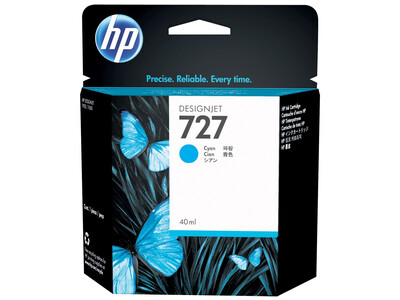 HP 727 XL ORIGINAL CYAN INK