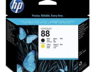 HP PRINTHEAD 88  BLACK /YELLOW