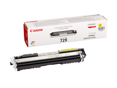 CANON 729 ORIGINAL TONER YELLOW
