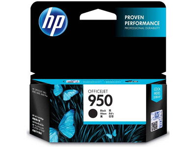 HP 950  ORIGINAL BLACK INK *1000 PAGES