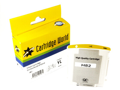 HP 82 REPLACEMENT YELLOW INK