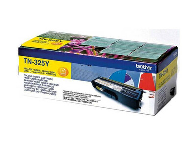 BROTHER TN325 ORIGINAL TONER YELLOW