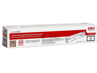 OKI C3520 ORIGINAL TONER BLACK