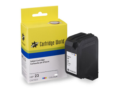 HP 23 COMPATIBLE  COLOUR INK