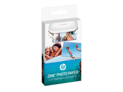 HP SPROCKET ZINK 2X3 PHOTO PAPER - 20PK