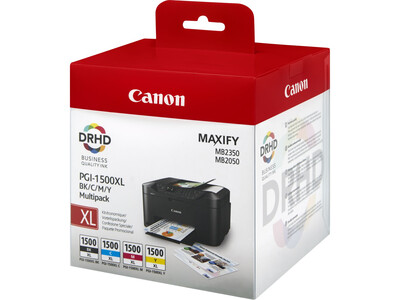 CANON PGI1500 XL MULTIPACK ORIGINAL 4 INKS