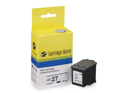 HP 27 CW REPLACEMENT BLACK H/Y 19ML