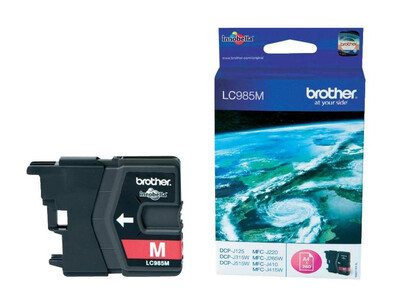 BROTHER LC985 ORIGINAL MAGENTA INK
